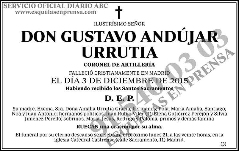 Gustavo Andújar Urrutia